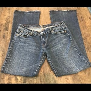 7 For All ManKind Bootcut Jeans 31
